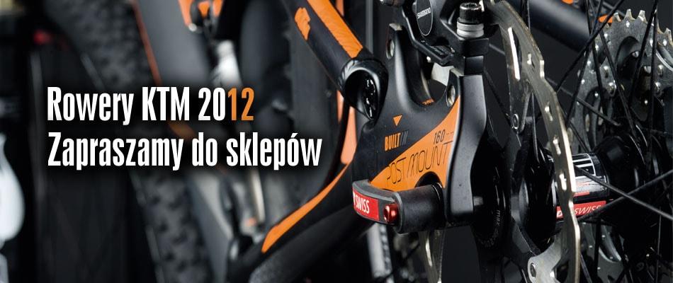 Rowery KTM 2012