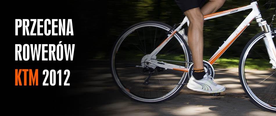 Wyprzedaż rowerów 2012