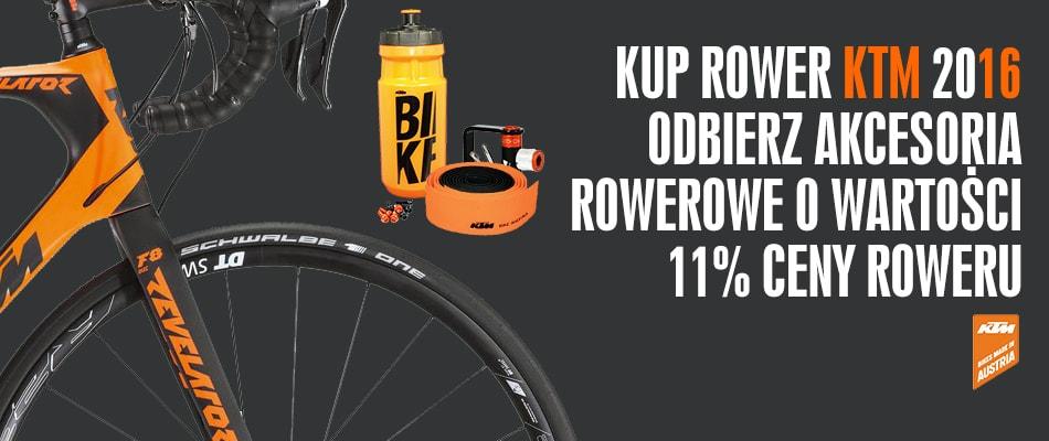 KTM ROwery 2016 Akcesoria Gratis